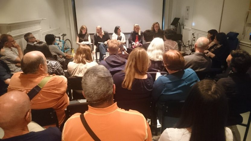 Panel discussion about Mountain High Valley Low, Birkbeck Arts Week 2016